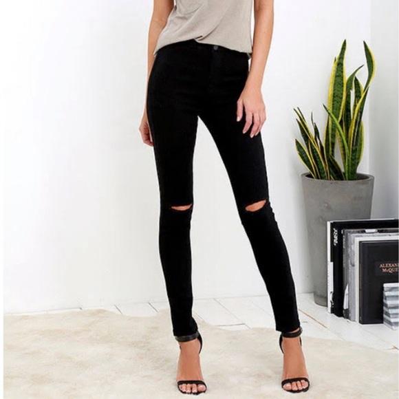 American Bazi Denim - American Bazi black distressed jeans